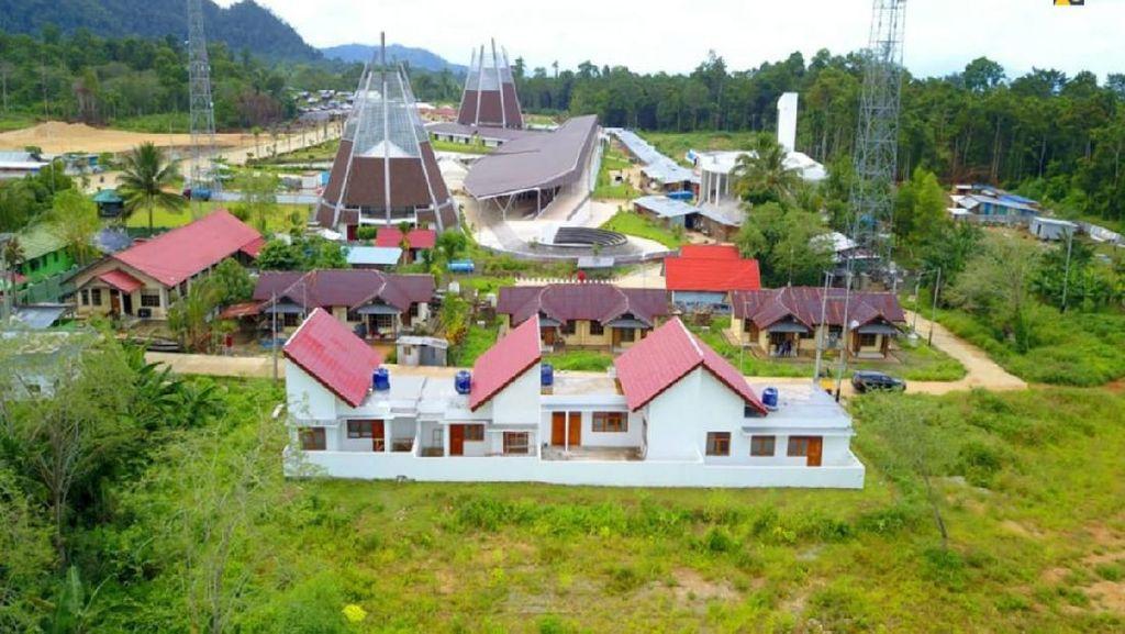 Proyek Sarana Pos Lintas Batas Skouw Papua Dikebut