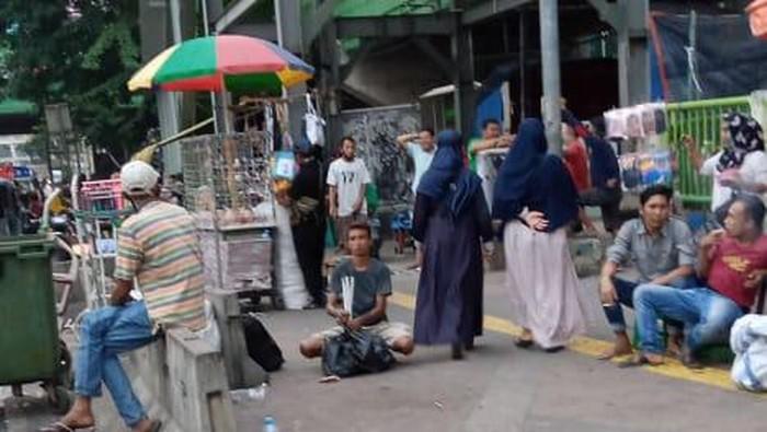 Situasi PKL Pasar Tanah Abang