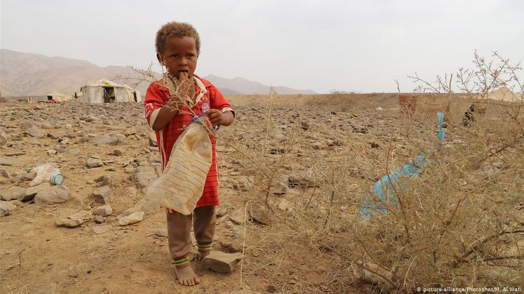 UNICEF: Tanpa Bantuan Segera, Jutaan Anak Yaman Terancam Kelaparan