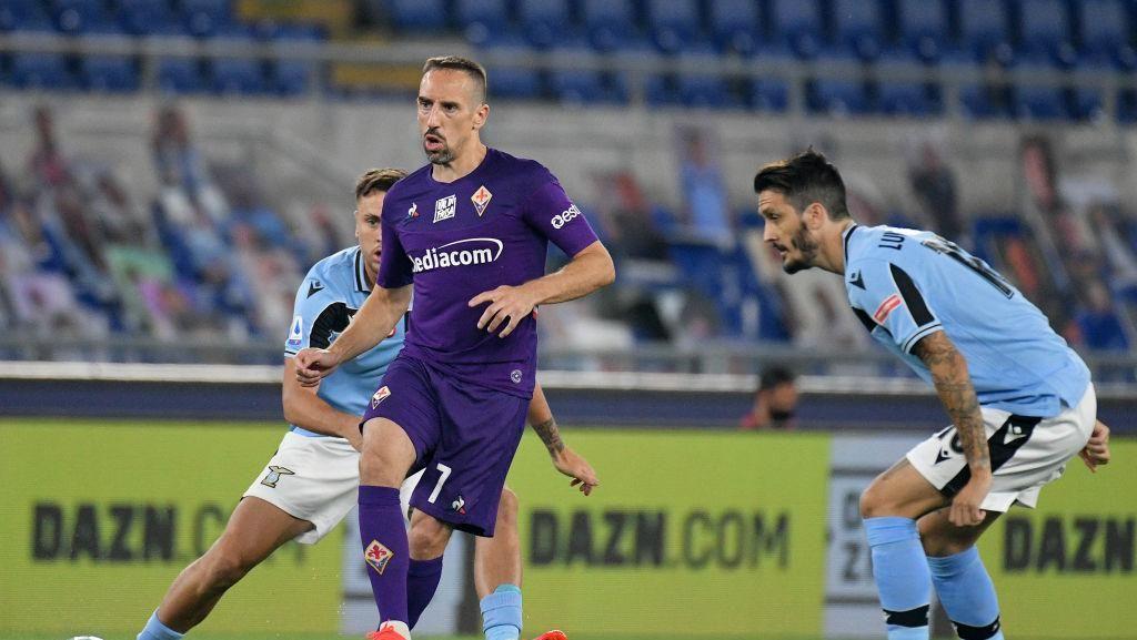 Di Usia 37 Tahun, Ribery Cetak Gol Indah Gocek Tiga Pemain Lazio