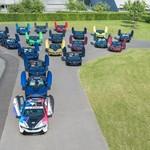 Pamit, BMW i8 Bentuk Barisan dengan 18 Warna Unik Tinggalkan Pabrik Leipzig