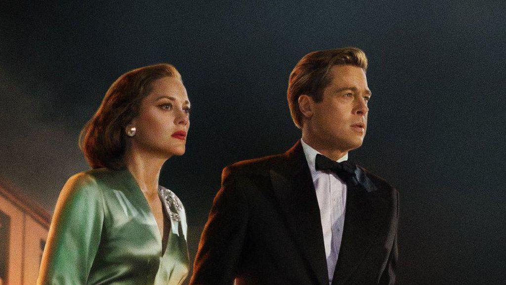Sinopsis Allied di Bioskop Trans TV, Film Romansa Brad Pitt di Perang Dunia