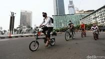 Jalur Sepeda Dibuka Meski CFD di Sudirman-Thamrin Ditiadakan