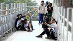 JPO Tanpa Atap di Sudirman Jadi Favorit Selfie Warga
