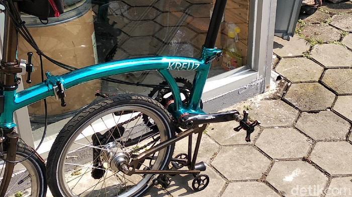 Mengenal sepeda Kreuz, Bromton made in Bandung
