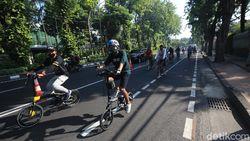 Ini Cara Biar Pesepeda Tak Bentrok dengan Kendaraan Bermotor