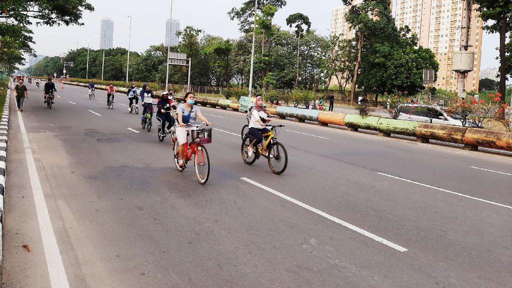 Potret CFD di Jalan Benyamin Sueb Kemayoran