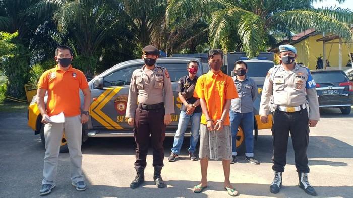 Pria di Bengkulu ditangkap.