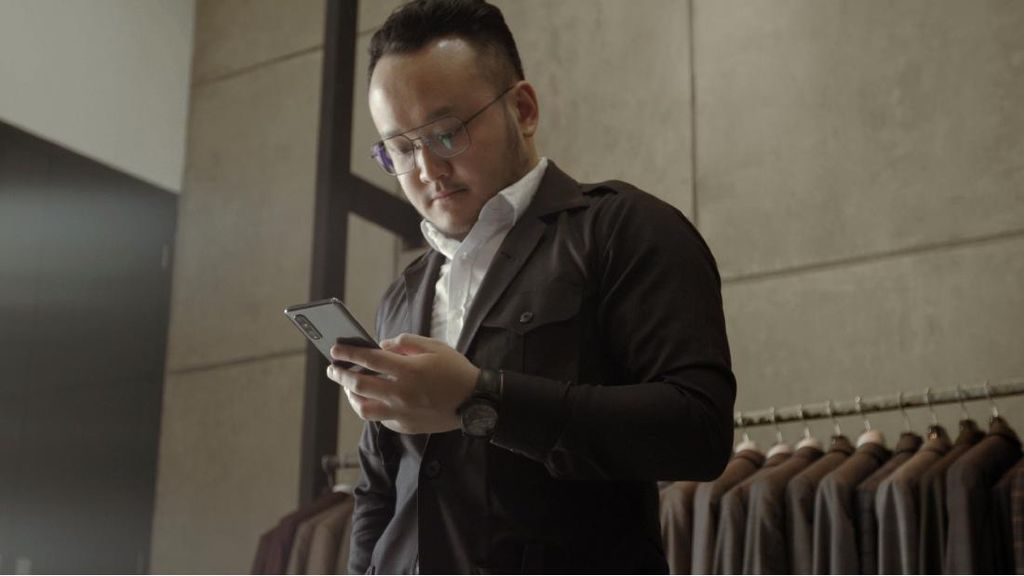 Jaga Bisnis Fesyen Saat Pandemi, Samuel Wongso Andalkan Smartphone