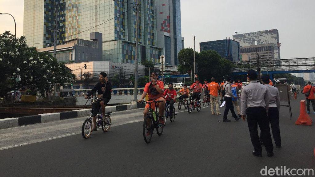 CFD Jalan Gajah Mada Jakpus, Lansia-Anak di Bawah 9 Tahun Akan Dipulangkan