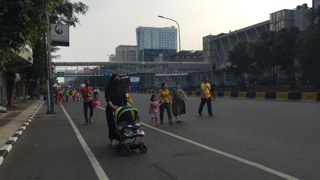 CFD Jakarta Sudah Diperbanyak ke 32 Titik, Pelanggaran Masih Ditemukan