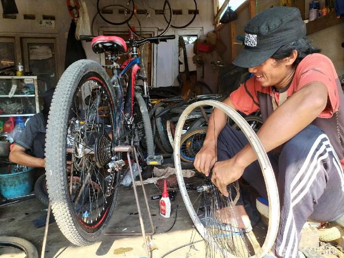 Bengkel Sepeda di Ciamis