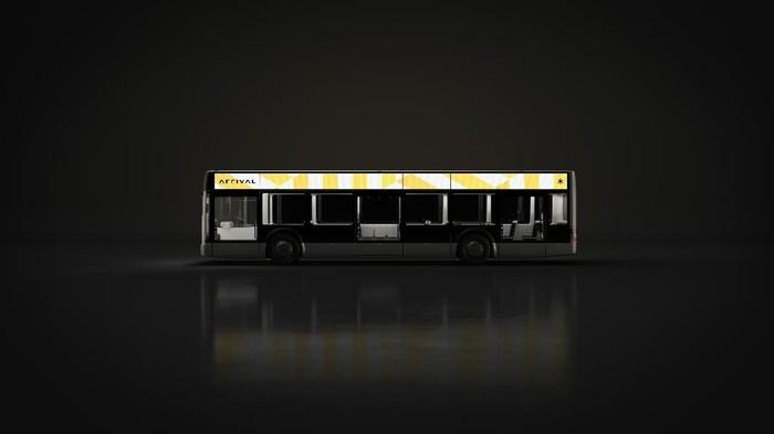 Bus Listrik Arrival