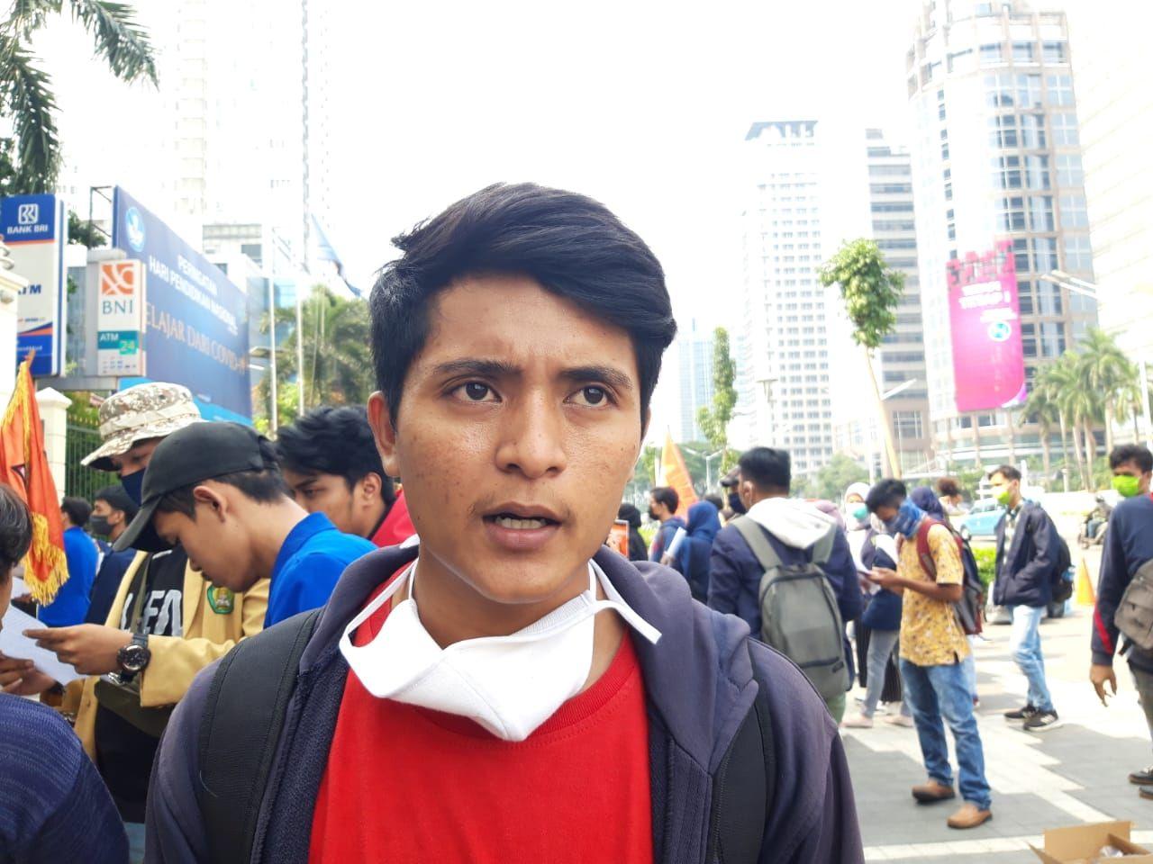Demo Mahasiswa Bekasi di Kemendikbud