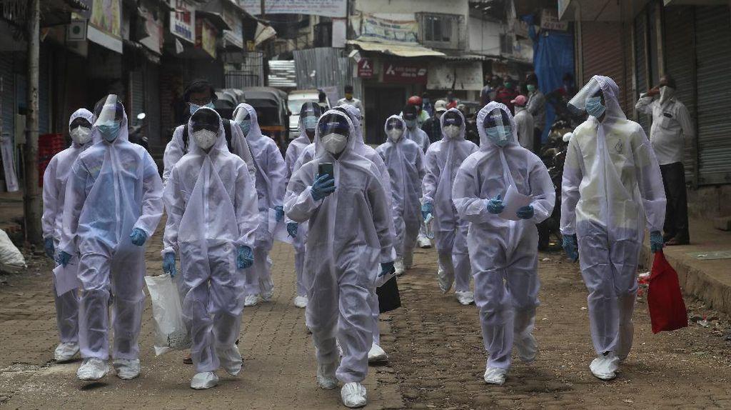 Geser Inggris, India Catat Kematian Corona Tertinggi Keempat Dunia