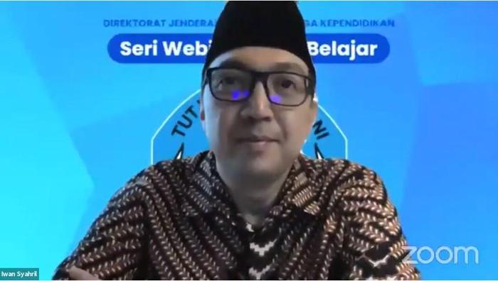 Direktur Jenderal Guru dan Tenaga Kependidikan Iwan Syahril