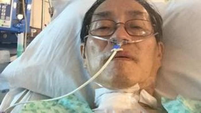 Felix Khor saat dirawat akibat Corona dan koma 43 hari (BBC News0