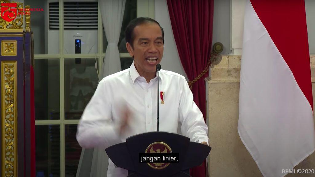 Kejengkelan Jokowi Hingga Ancam Reshuffle Menteri Kurang Sense of Crisis
