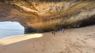 Foto: Pantai Unik di Dalam Gua