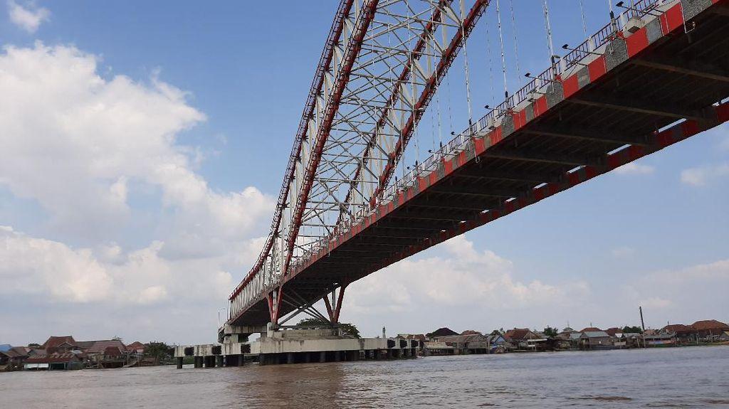 Proyek Jembatan Musi VI Lanjut, Desember Bisa Rampung?