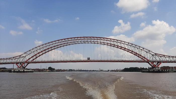 Jembatan Musi VI di Palembang