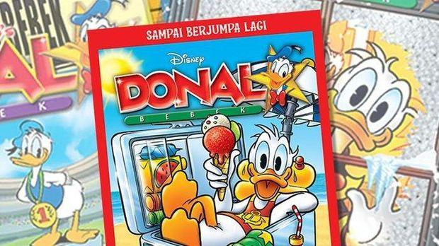 Komik Album Donal Bebek