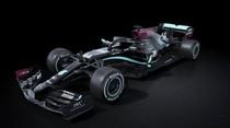 Lawan Rasisme, Mobil F1 Mercedes Kini Warna Hitam