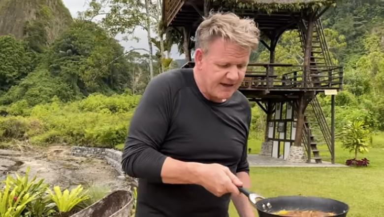 Omelet Rendang ala Gordon Ramsay