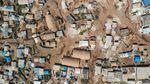 Potret Kamp Pengungsian Idlib Suriah dari Atas