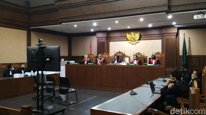 Sidang tuntutan di PN Tipikor Jakarta Pusat.
