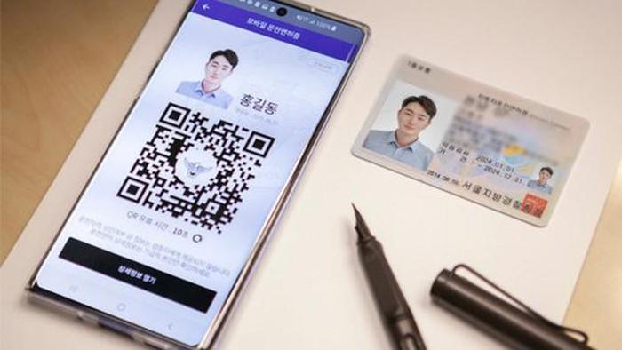 SIM Digital di Korea Selatan, berkendara cukup tunjukkan ponsel