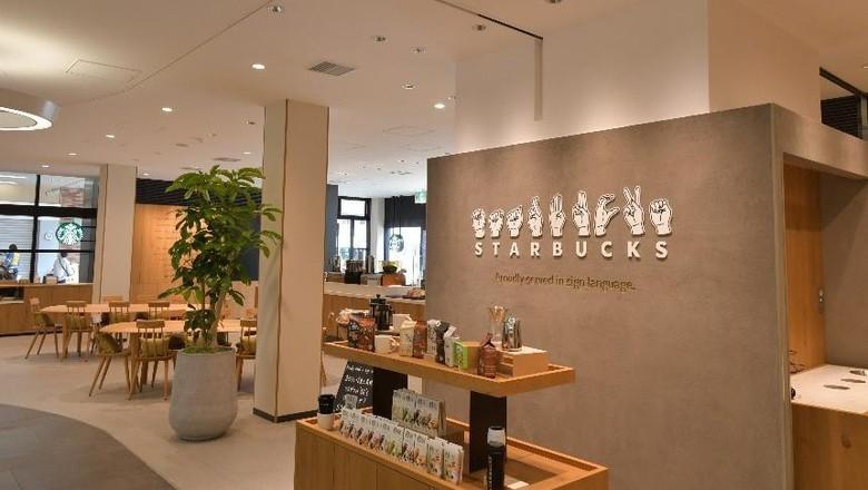 Starbucks tunarungu di Jepang