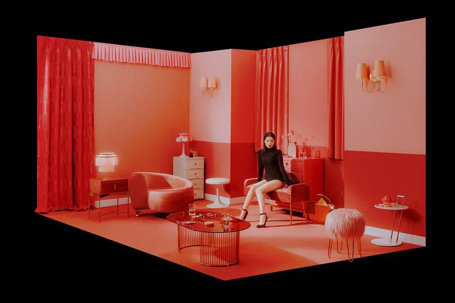 Teaser Foto Irene Red Velvet untuk debut sub-unit Irene & Seulgi