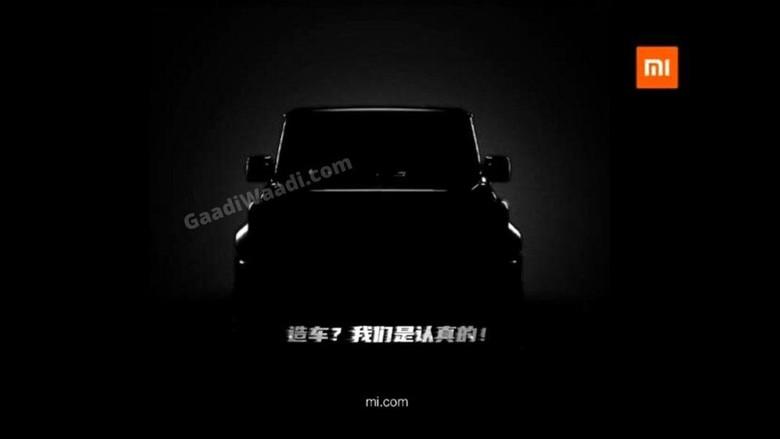 Teaser mobil Xiaomi