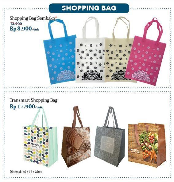 Transmart Carrefour mendukung larangan penggunaan kantong plastik