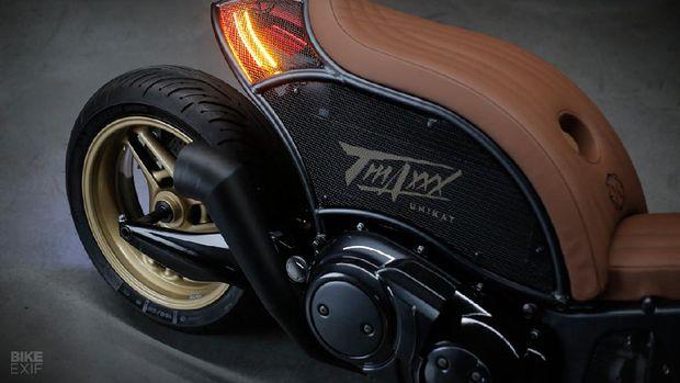 Yamaha TMAX dibikin lebih langsing