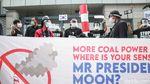 Aksi Mengecam Pandanaan PLTU Jawa 9 & 10