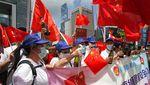 Aksi Pro-Kontra Warga Hong Kong Usai UU Keamanan Disahkan
