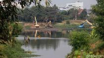 Antisipasi Banjir, Waduk Ria-rio Kembali Dikeruk