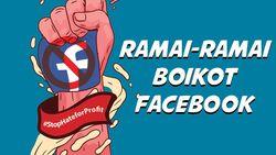 Diboikot Pengiklan, Berapa Pemasukan Facebook dari Iklan?