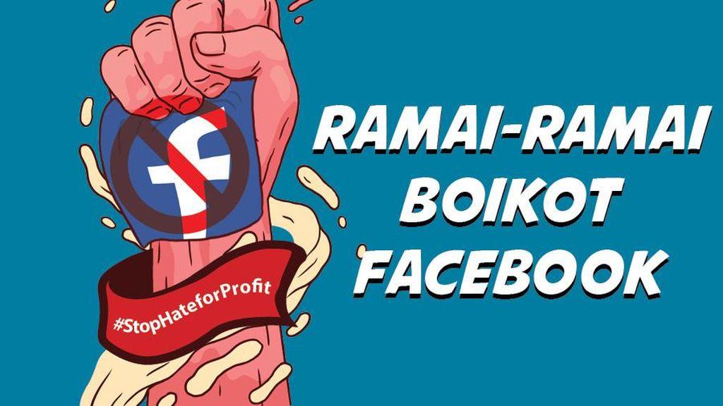 Daftar Perusahaan yang Boikot Facebook