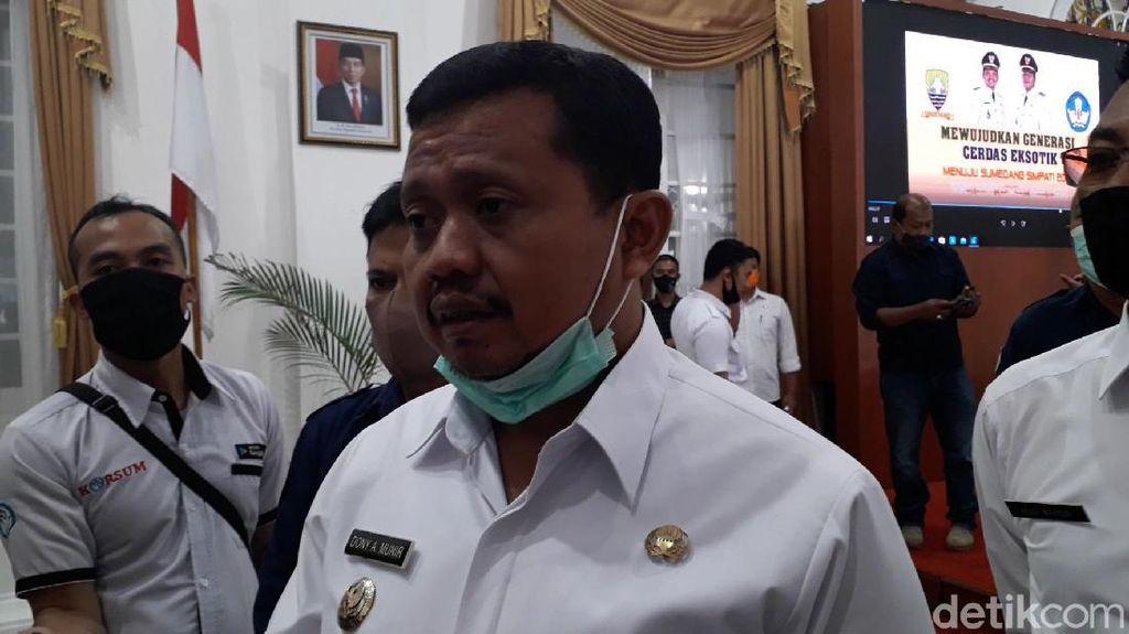 Bupati Sumedang Tak Masalahkan Kegiatan HRS, Asal...