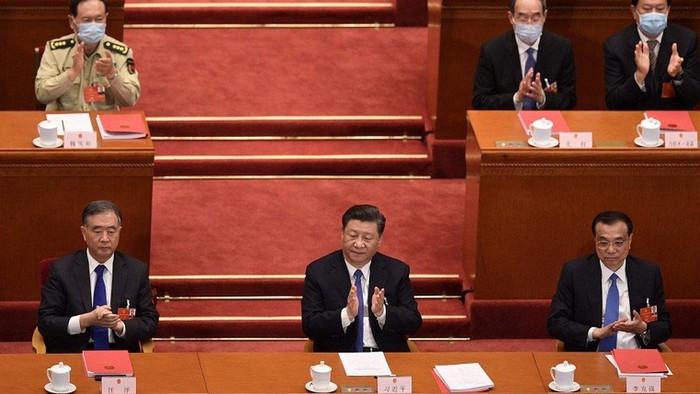 China loloskan UU keamanan Hong Kong yang kontroversial