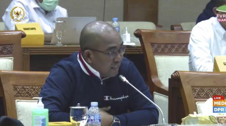 Dirut Holding Tambang, Orias Petrus Moedak, diusir dari rapat DPR