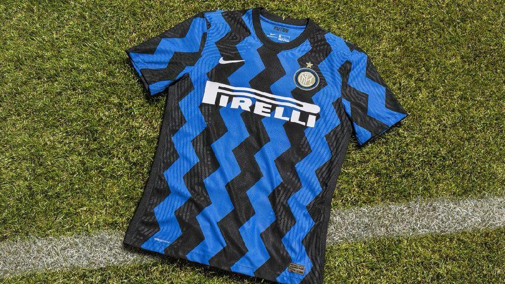 Ini Jersey Kandang Inter Milan Musim Depan, Motifnya Zig-Zag
