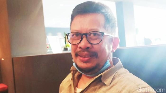 Irman Yasin Limpo atau yang akrab disapa None (MN Abdurrahman/detikcom)