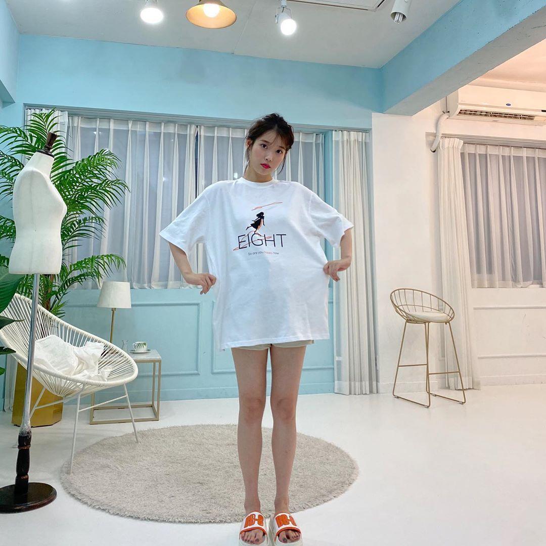 IU Bikin Penggemar Khawatir Unggah Foto Ramyeon