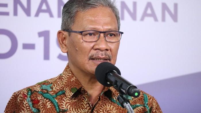 Juru bicara penanganan COVID-19, Achmad Yurianto (dok. BNPB)
