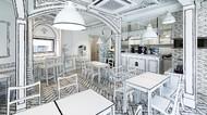 Unik! Desain Kafe di Korea Ini Seperti Kartun 2 Dimensi Gaes