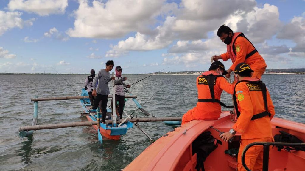 Nelayan yang Hilang karena Kapal Terbalik di Benoa Bali Ditemukan Tewas